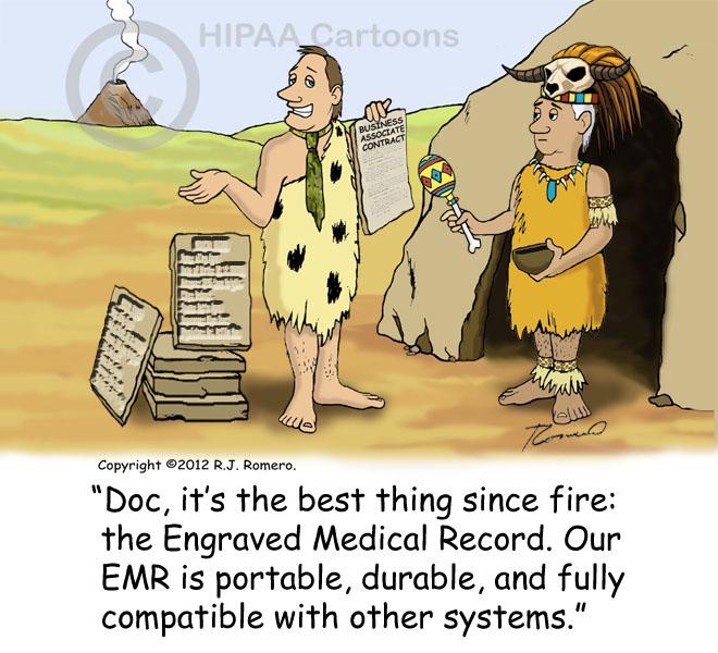 Cartoon-Caveman-salesman-tells-doctor-about-new-EMR-invention_emr133