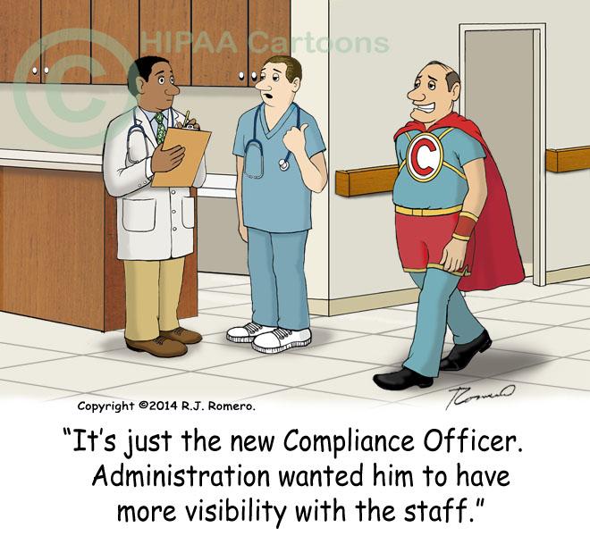 Pin funny hipaa cartoon news on pinterest - Ethics compliance officer ...