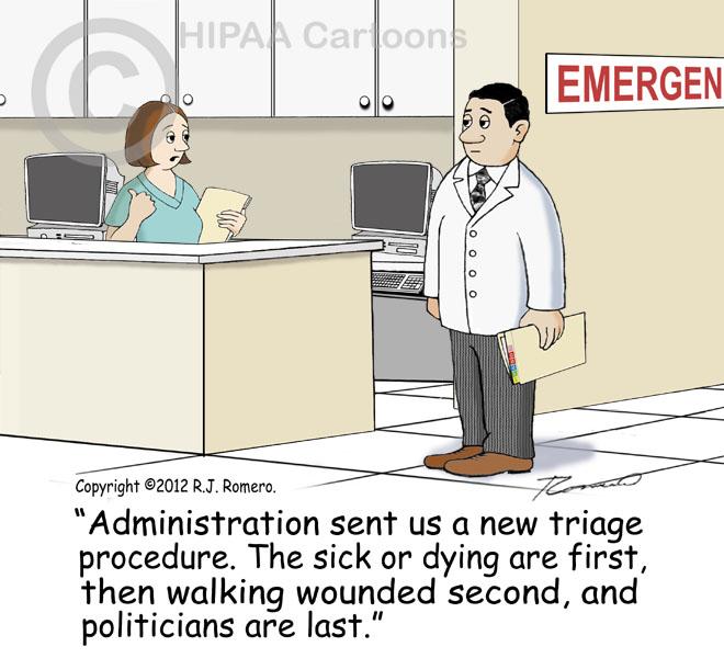 Medical Cartoons Hipaa Cartoons