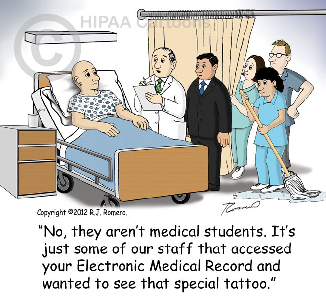 Gallery Of Funny Hipaa Privacy Humor And Privacy Cartoons