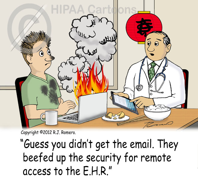Cartoon-laptop-blows-up-increased-security-remote-access-to-emr_emr132