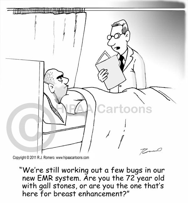 Cartoon-doctor-asks-patient-about-emr_s105